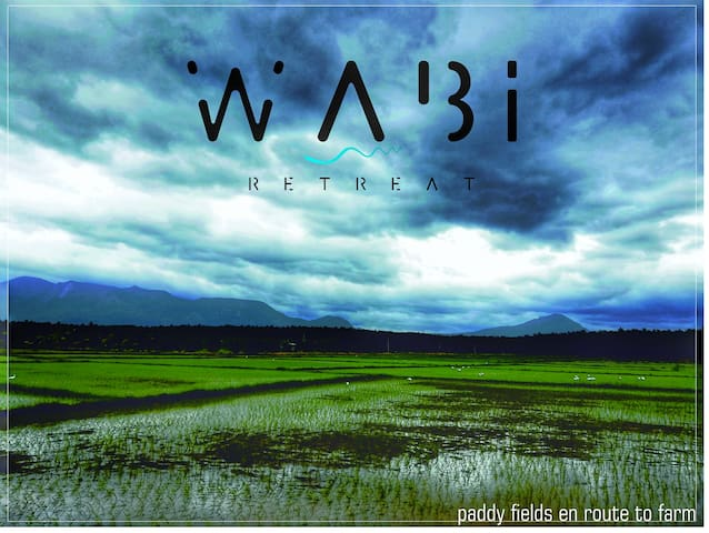 "WABI Retreat  ""farm stay"""