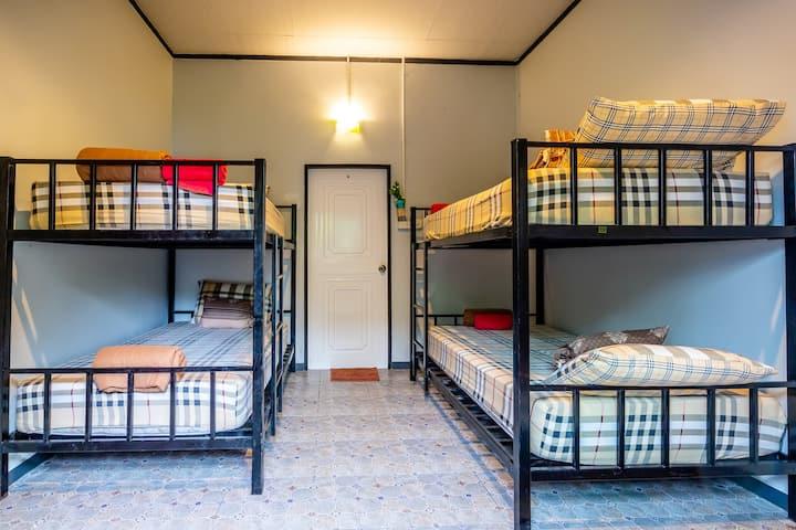 นิสรีนเกาะกลาง -ห้องพักรวม ที่พักในธรรมชาติ
