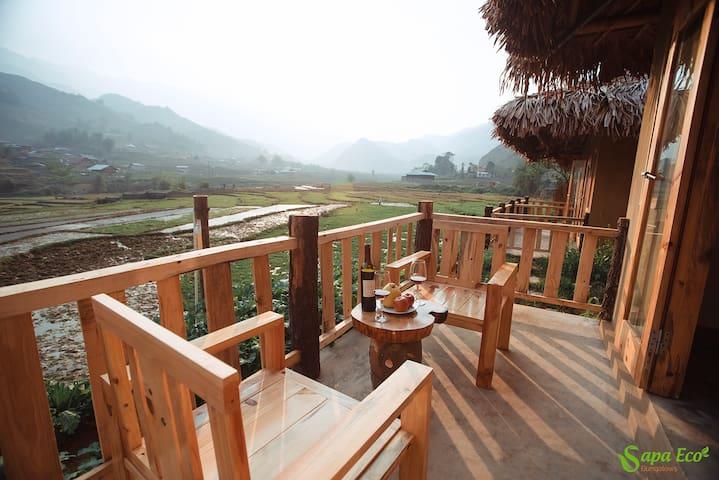 Sapa Eco Bungalows With Mountain View