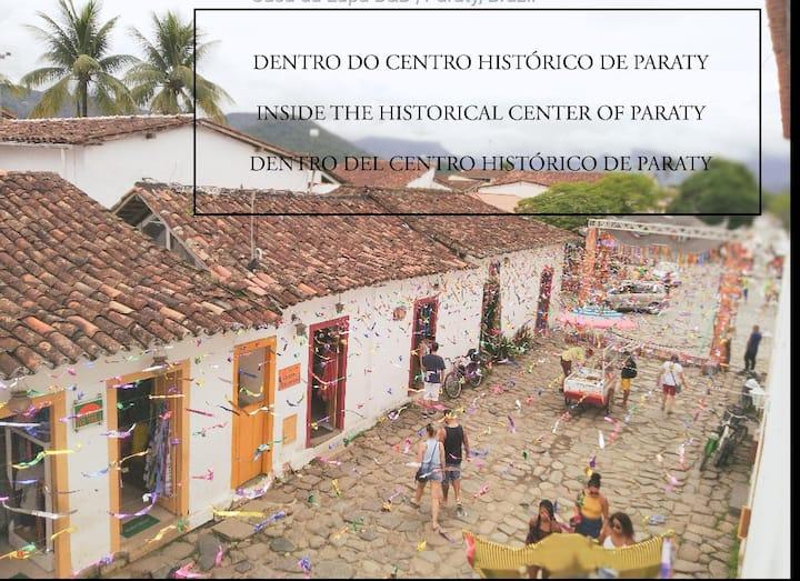 Casa da Lapa - No Centro Histórico de Paraty
