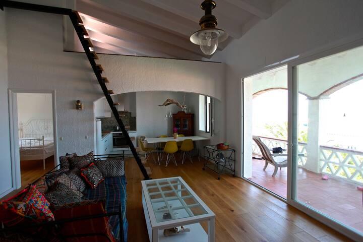 Meer(-blick) erleben - Ferienhaus mit Pool - Cadaqués - Rumah