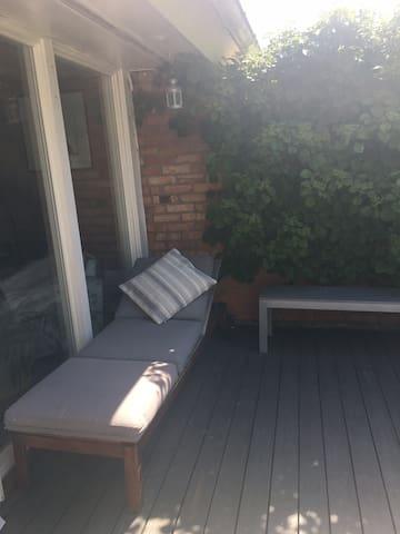 Quiet terrace