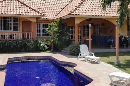 Rancho Paraiso by Paname O Panama: 2 pers. bedroom - Коронадо - Дом