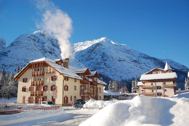 Apartment in Residence 20km Cortina