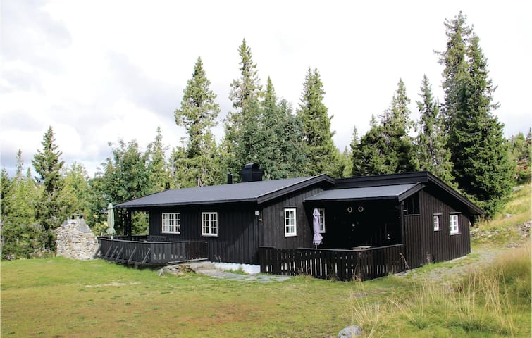 Holiday cottage with 4 bedrooms on 70m² in Sjusjøen