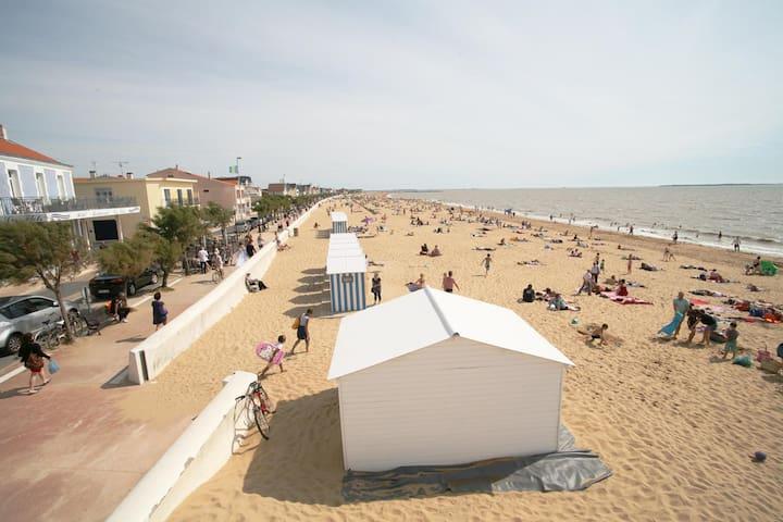 Appart à 100m de la plage et proche de La Rochelle - Châtelaillon-Plage - Apartment