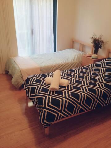 Private Twin Room Chatswood CBD - Chatswood - Leilighet