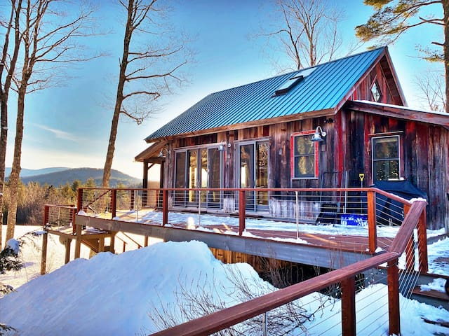 Vermont Treehouse - Romantic Private  Elegant