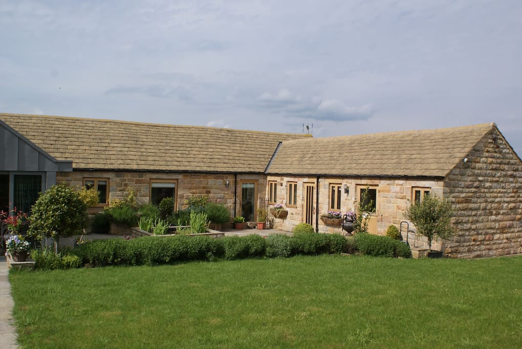 Your accommodation, stunning original Yorkshire stone