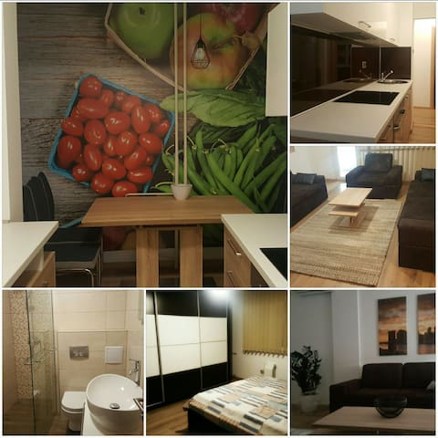 New luxury apartment in city center