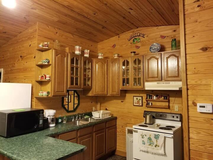 Large spacious cabin at Clearwater Lake Resort