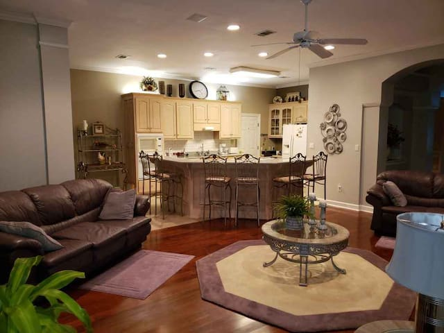 Spacious Home In Golf Course Community.