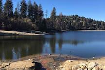 Hike, fish and picnic at Lake Gregory