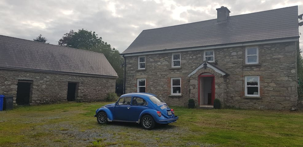 Blackstairs-based cottage retreat off the grid