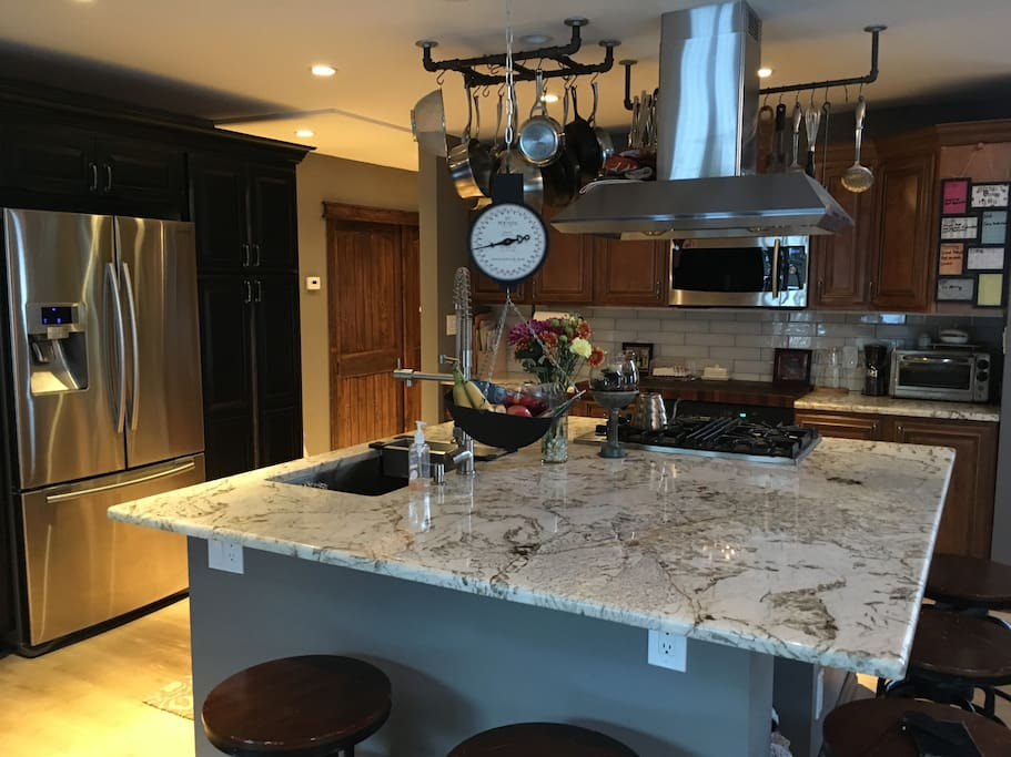 New remodeled kitchen equipped with everything you need to feel right at home
