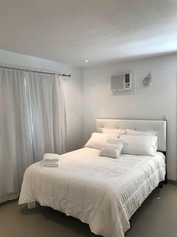 Absolute White Serenity Studio Apartment.