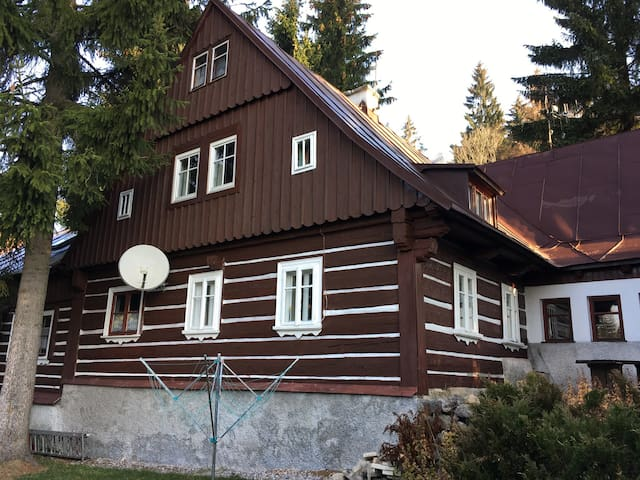 House for 29 pers with WLAN in Harrachov R3162