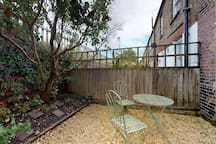 There is a small patio garden at the rear of the property which is accessed from the kitchen.
