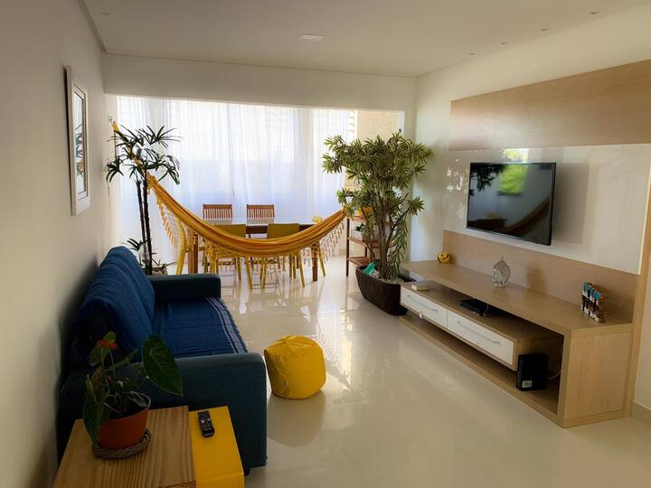 Pretty apart 50 m from the best beach in Salvador
