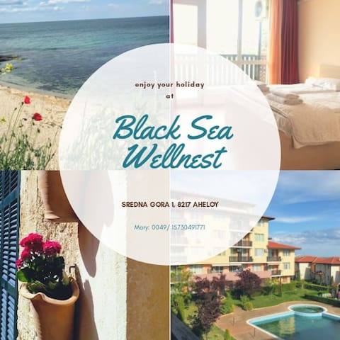 Black Sea Wellnest - Calm, Spacious, Sea View