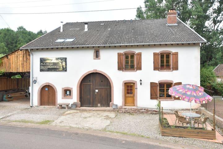 Gîte Sylvestre with private entrance
