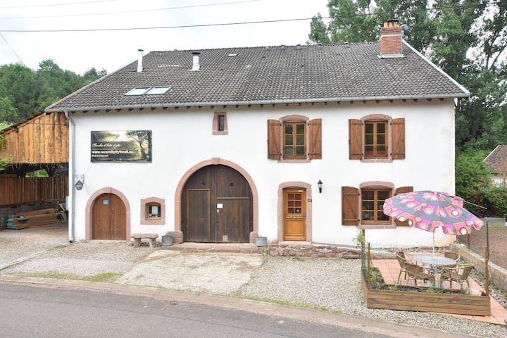 Gîte Sylvestre with private entrance