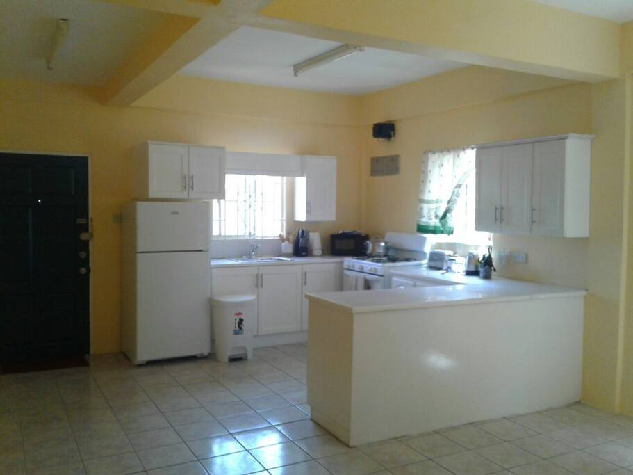 Brand new open concept kitchen,dining, and living room, all new appliances which makes you want to start cooking, you will enjoy your stay here so give it another look.