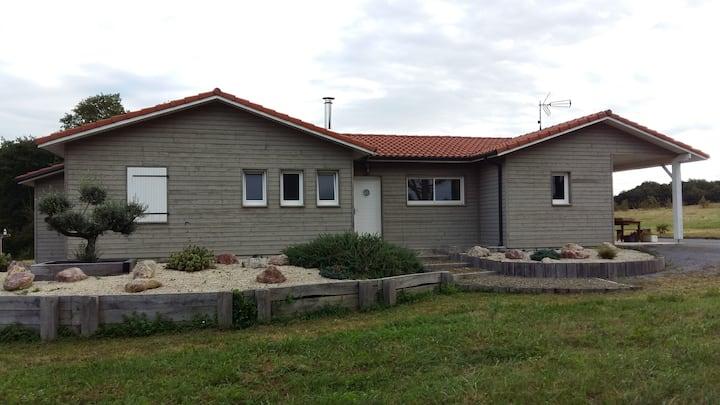 Maison Ossature Bois proche Aire sur l'Adour
