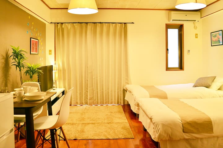 Naha Central 2PAX Kokusai-Dori 9 min/Free WiFi11X