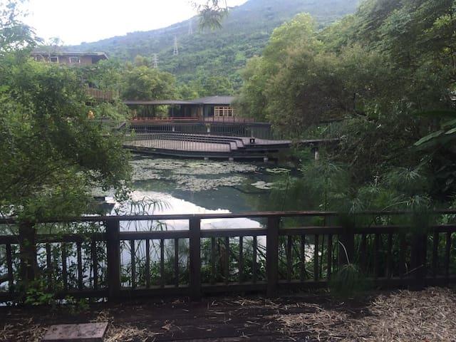絕美馬太鞍生態!花蓮光復欣綠農園石頭屋-雙人房 - Guangfu Township - Apartment