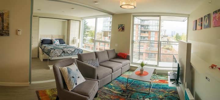 Fully Furnished 1br1ba Condo utilities incl, Apr 1