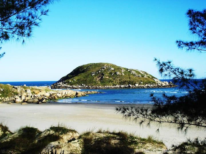 Praia da Vila Casa1️⃣ aconchegante 🏠🏝️1️⃣
