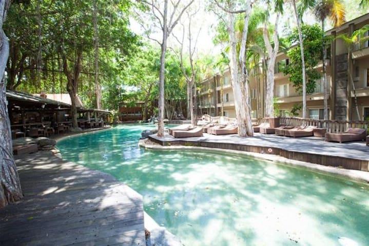 Lagon style pool