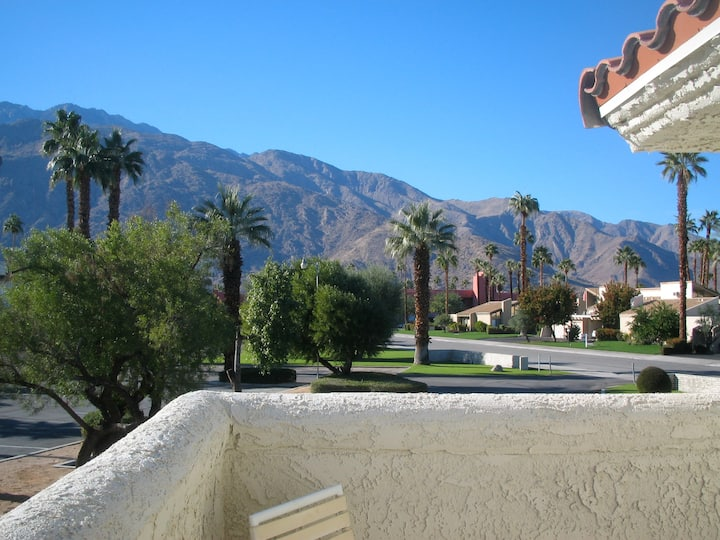 Cheerful 1 BR condo in Palm Springs