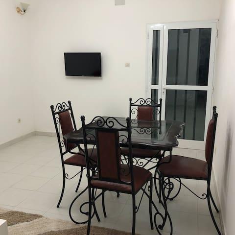 Appartement 2 pièces à la zac Mbao