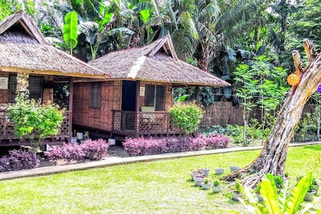 Cottages in a Log Home Beach Resort - Bacong