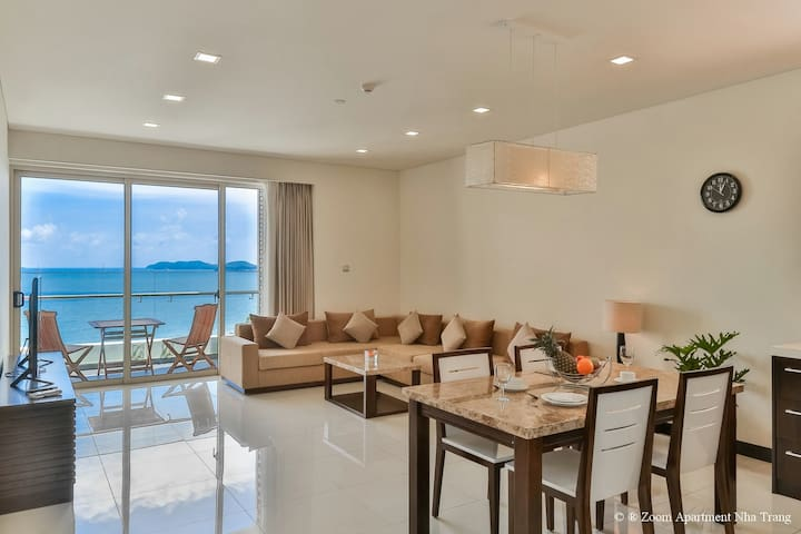 90sqm 1BR beachfront flat of The Costa Residence.3