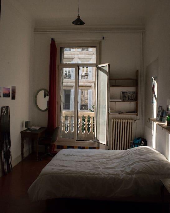 Exemple d'une des 5 chambres