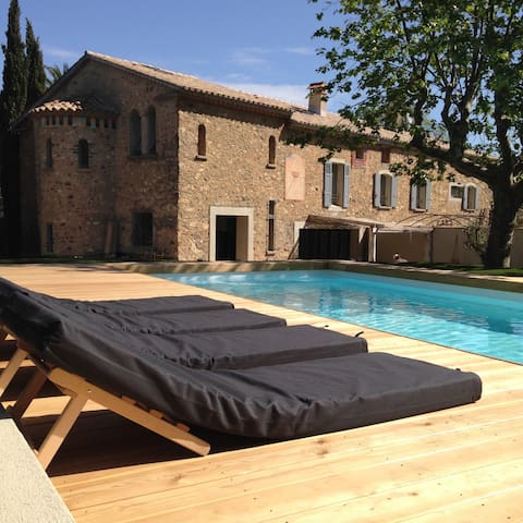 Villa and pool 5 mn to Saint Tropez - Gassin  - Huis