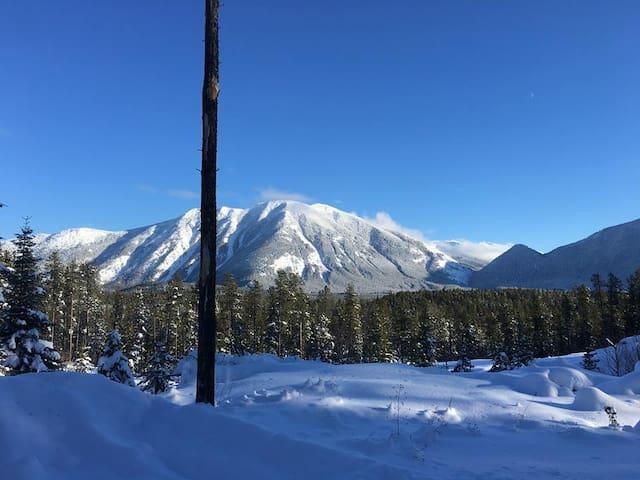 Glacier Mountaintop Chalet