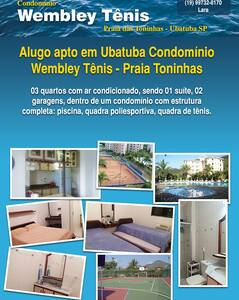 Apartamento - Praia das Toninhas - Ubatuba - SP - Toninhas