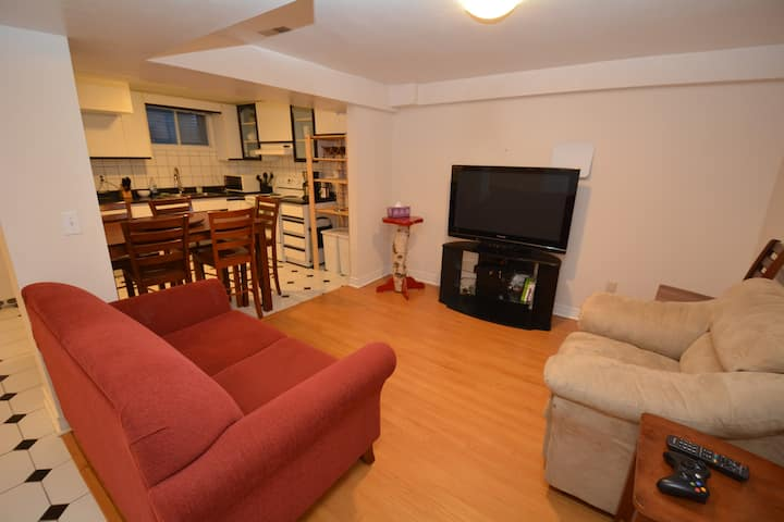 Private Furnished basement apartment in Oakville