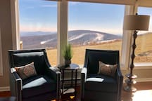 Living room view of Eagles Swoop