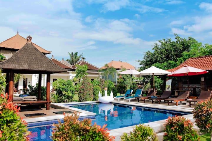 One Bedroom Uluwatu Jungle Villa with Pool View