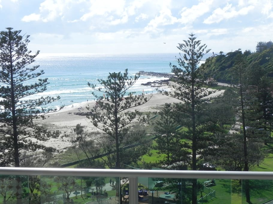 Enjoy the view over Kirra . . . or