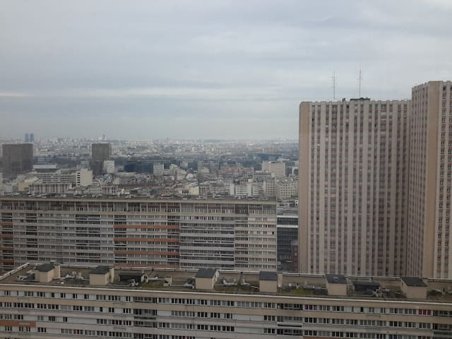 Appart 50 M2 Paris 13ème Vue imprenable Paris Sud