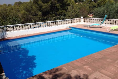 Chalet de monte  con piscina - Sagunt - Dům