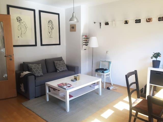 Luminous & central 2 room apartment in Glöckenbach - 慕尼黑 - 公寓
