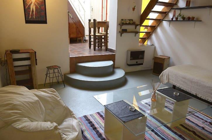 Cosy bohemian house Casita de artistas Luminosa !