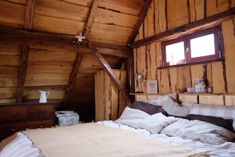 Wooden love nest
